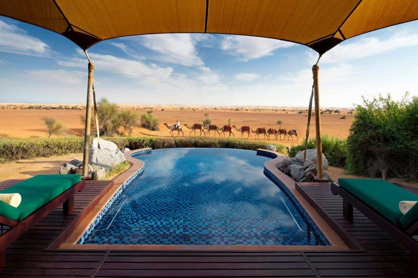 يعد منتجع المها خياراً مثالياً للراغبين في حجز فندق مع مسبح خاص في دبي