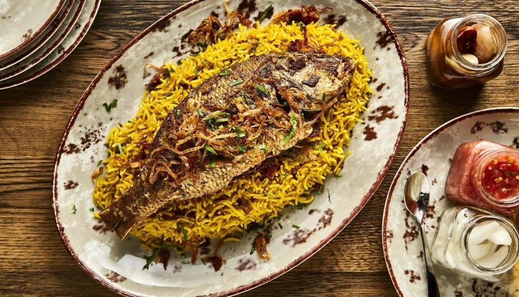 مطعم عربي في سيتي ووك دبي