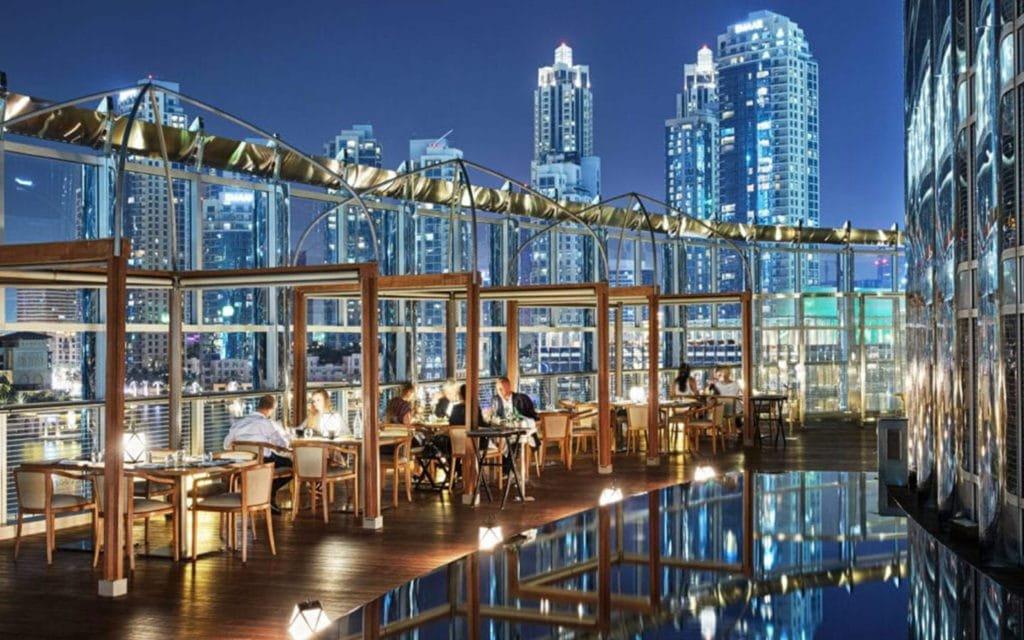 افضل مطاعم برج خليفة دبي