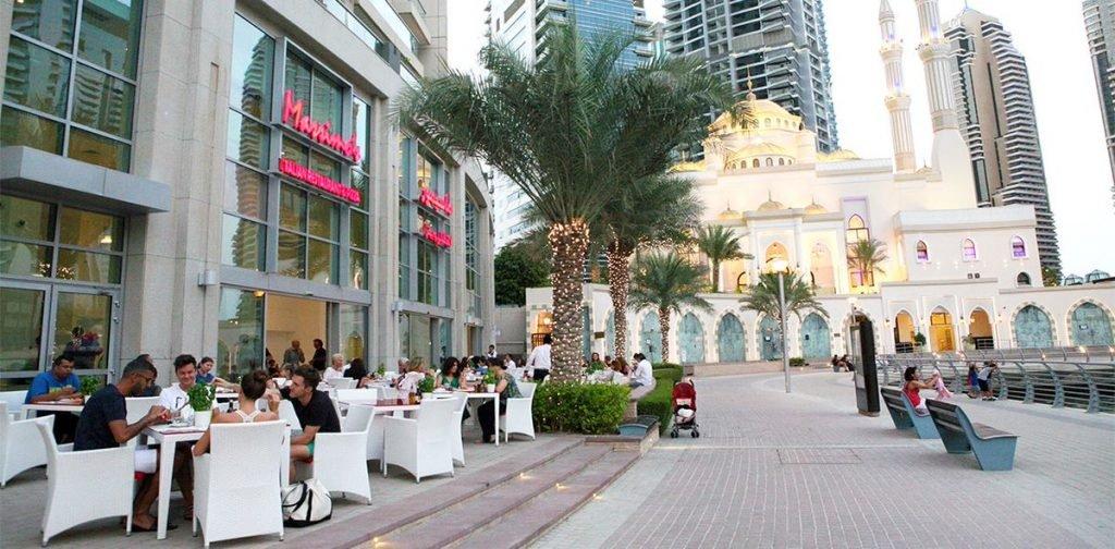 أبرز  مطاعم مارينا دبي