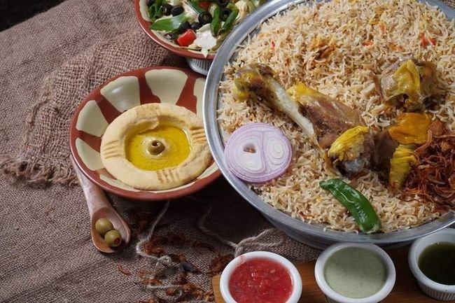 منيو مطعم بيت المندي المرقبات