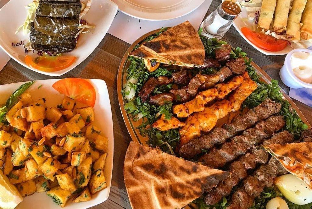 منيو مطعم بيروت دبي