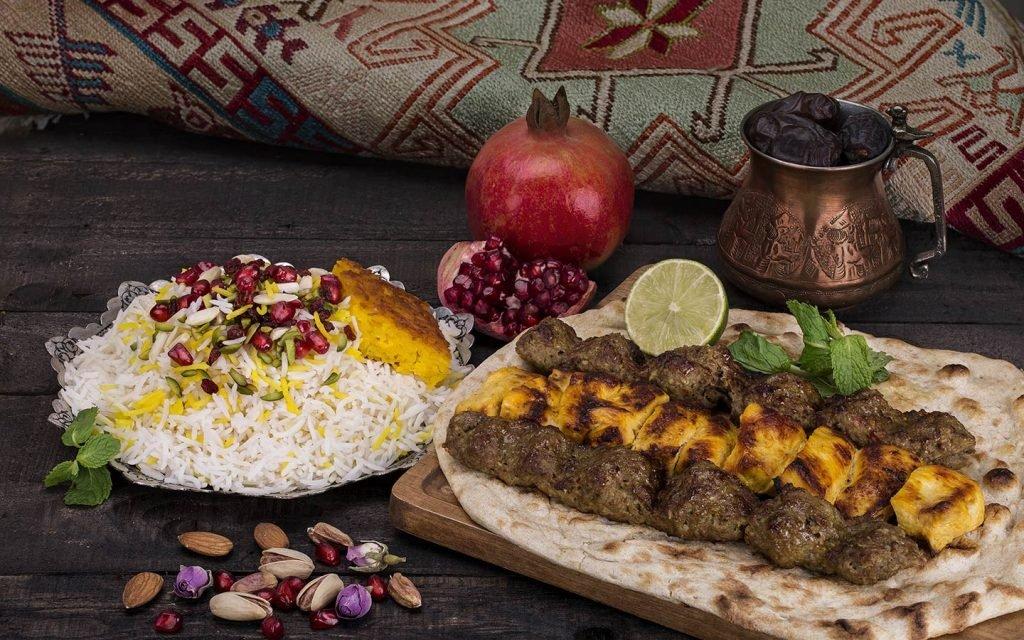 منيو مطعم صدف الايراني دبي