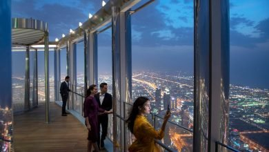 مطاعم برج خليفة دبي