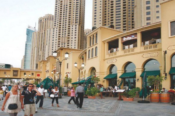 مطاعم الجي بي آر دبي
