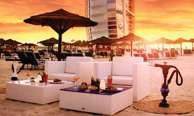 مطاعم على البحر في دبي