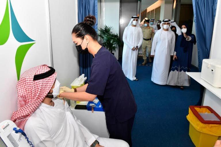 لقاح كورونا في دبي
