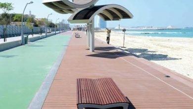 أفضل اماكن للمشي في دبي