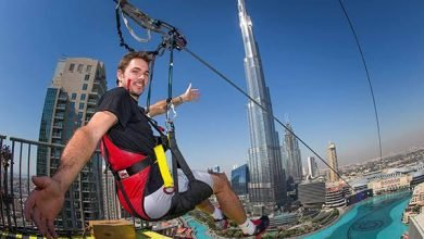 اماكن مغامرات في دبي