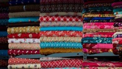 سوق الاقمشة الرجالية في دبي