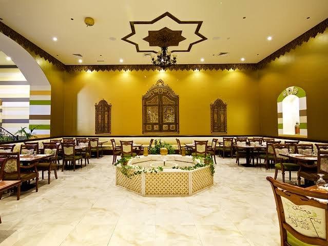 مطعم درج الياسمين دبي