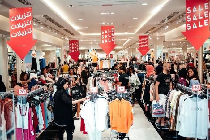 سوق التخفيضات في دبي