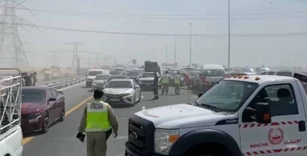 حادث دبي اليوم