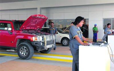 فحص المركبات دبي