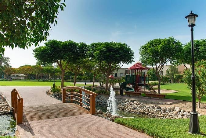 حديقة أب تاون مردف دبي