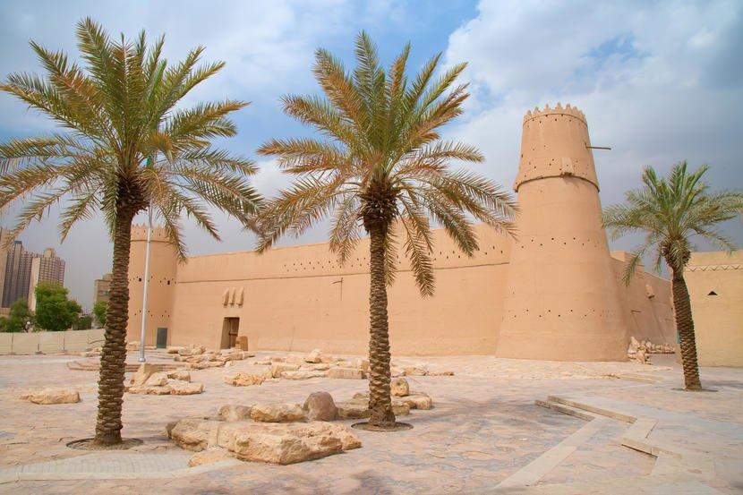 قصر المصمك من المعالم السياحية في الرياض