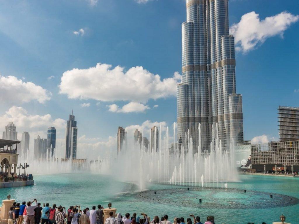 Burj Khalifafamous places to visit in Dubai