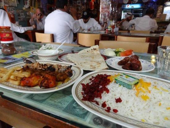 Cheap restaurants in Dubai