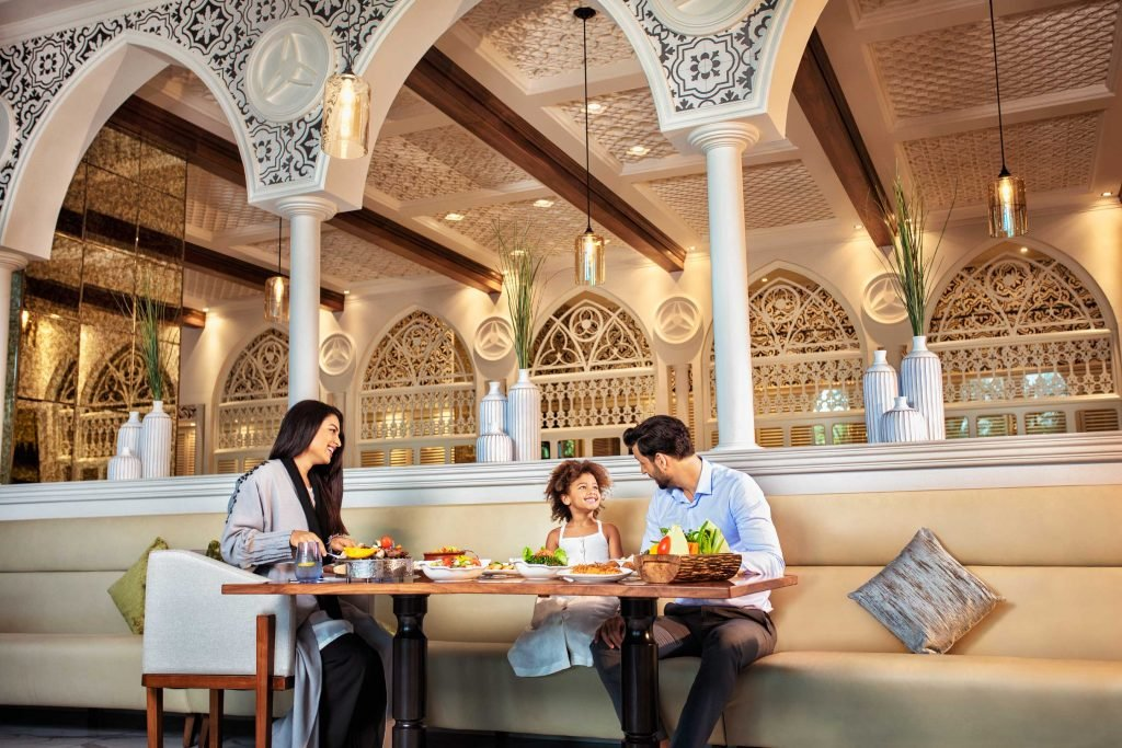 Family restaurants in Dubai