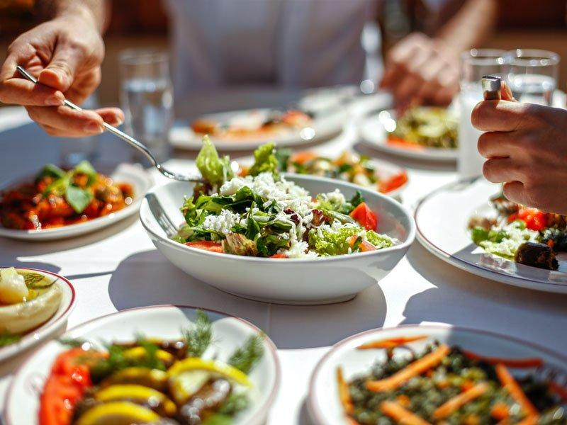Healthy food restaurants in Dubai