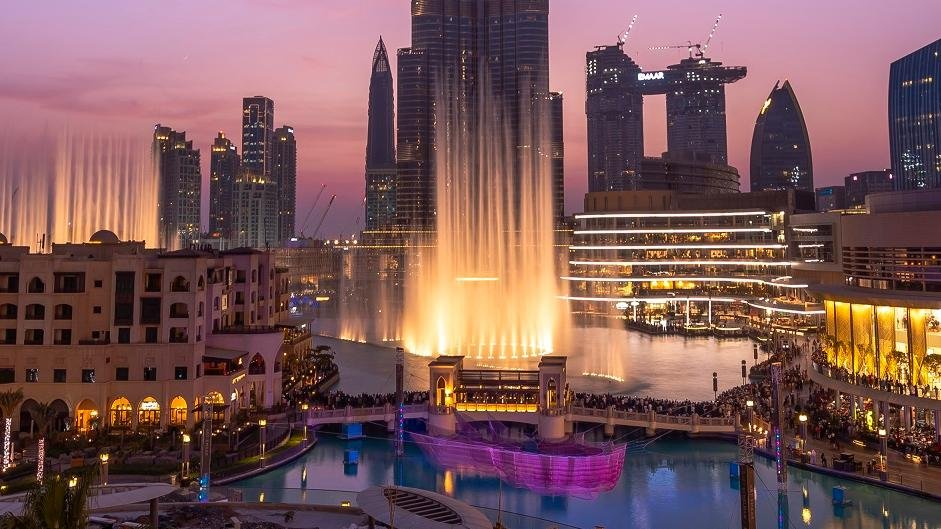 beautiful places of tourism in Dubai
