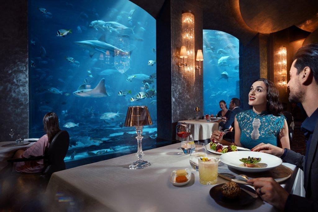 The most beautiful restaurants in Dubai