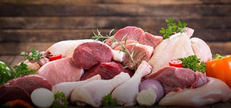 سوق اللحوم والدواجن في دبي