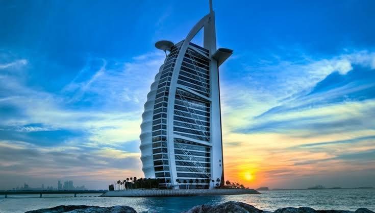 اماكن سياحية في دبي في الليل