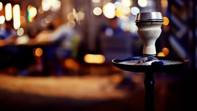 مقاهي شيشة في دبي مول