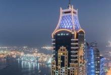 اطول ابراج سكنية في دبي