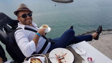 مطعم دينر ان ذا سكاي في دبي