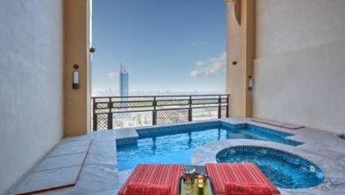 فنادق دبي مع مسبح خاص في الغرفة
